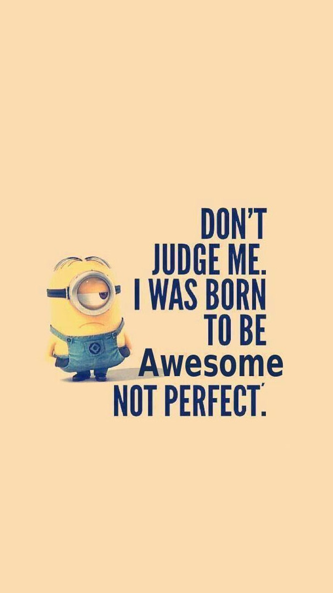 Born to be Awesome Minions