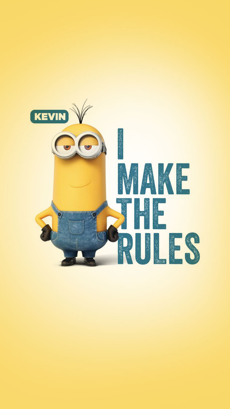Minions make the Rules Wallpaper