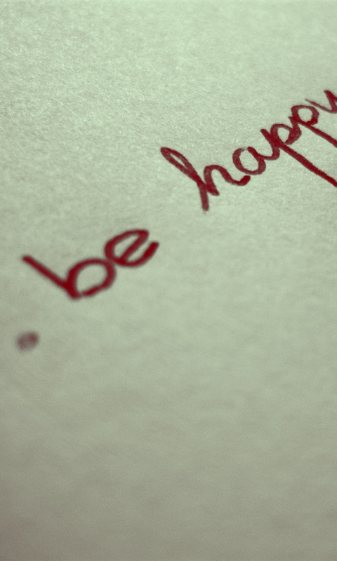 Be Happy Wallpaper