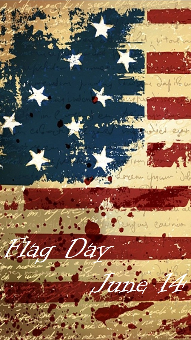 Flag Day iPhone Wallpaper