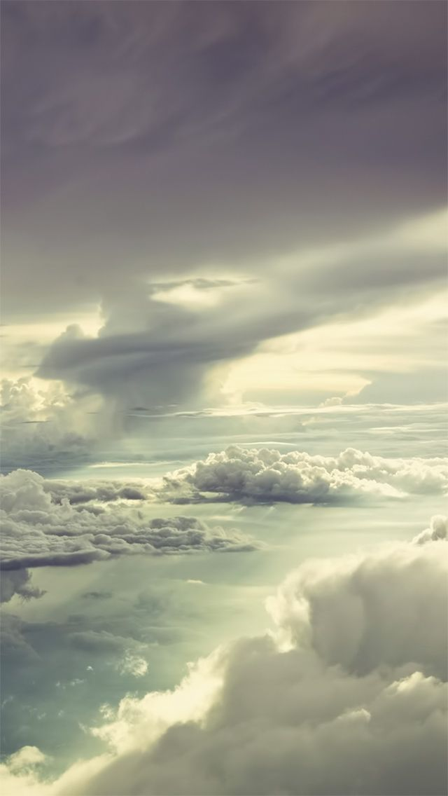Cloud View From Sky