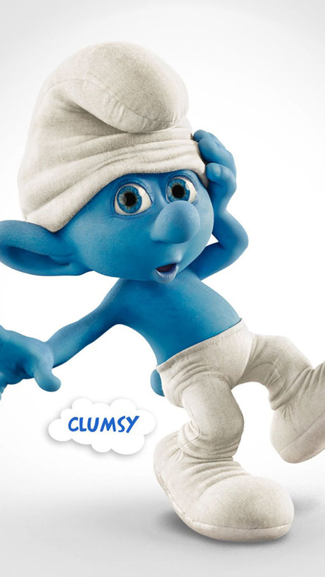 Clumsy The Smurfs