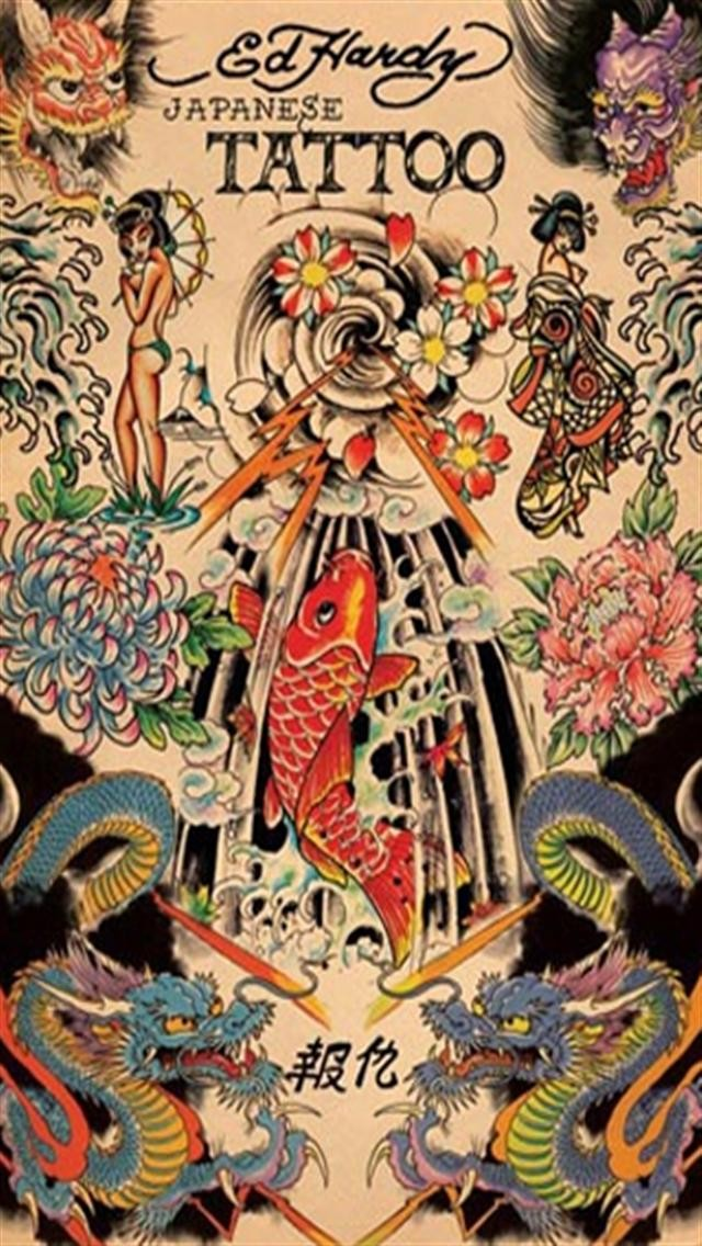ED Hardy Japanese Tattoo