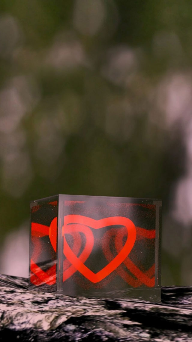 Heart Box Wallpaper