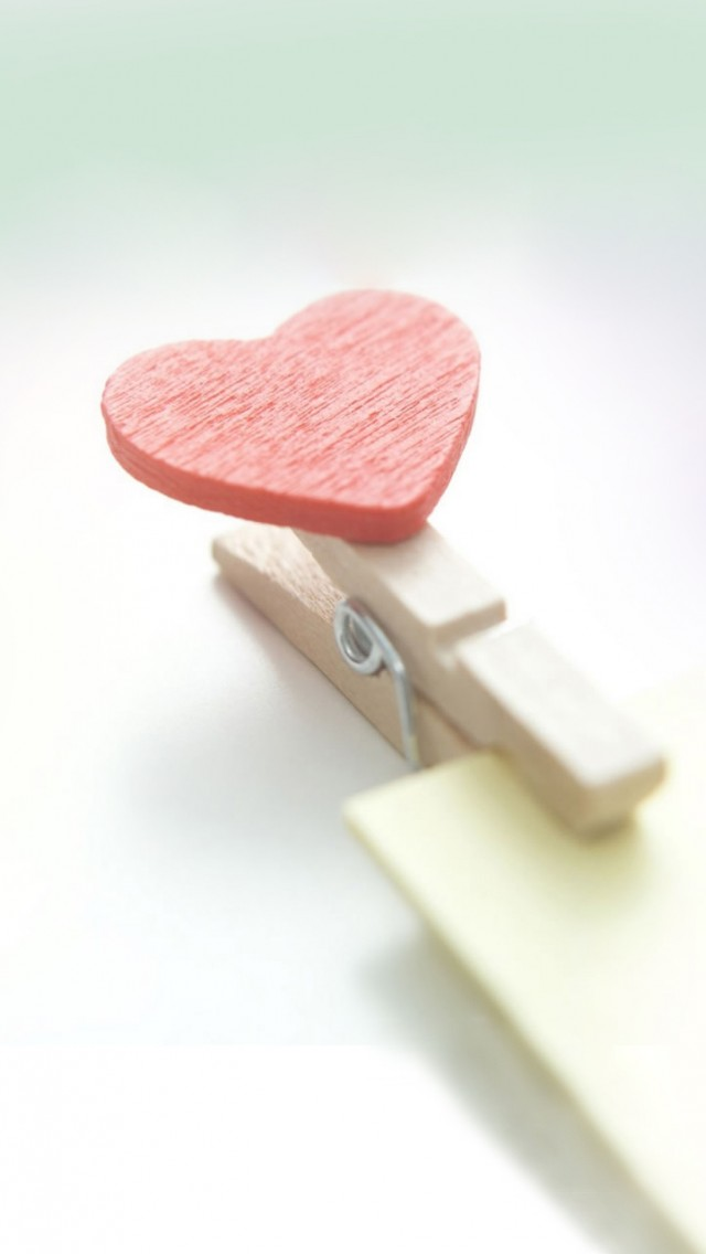 Heart On Clip
