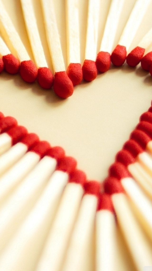 Matchbox Stick Heart