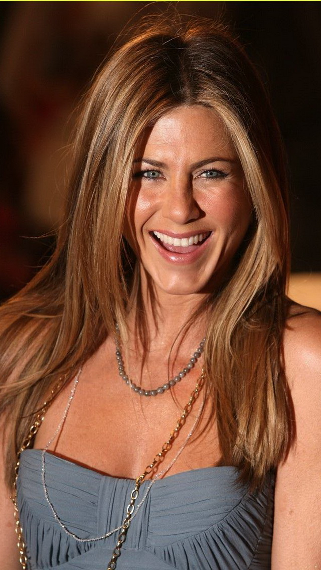 Smiling Face Jennifer Aniston