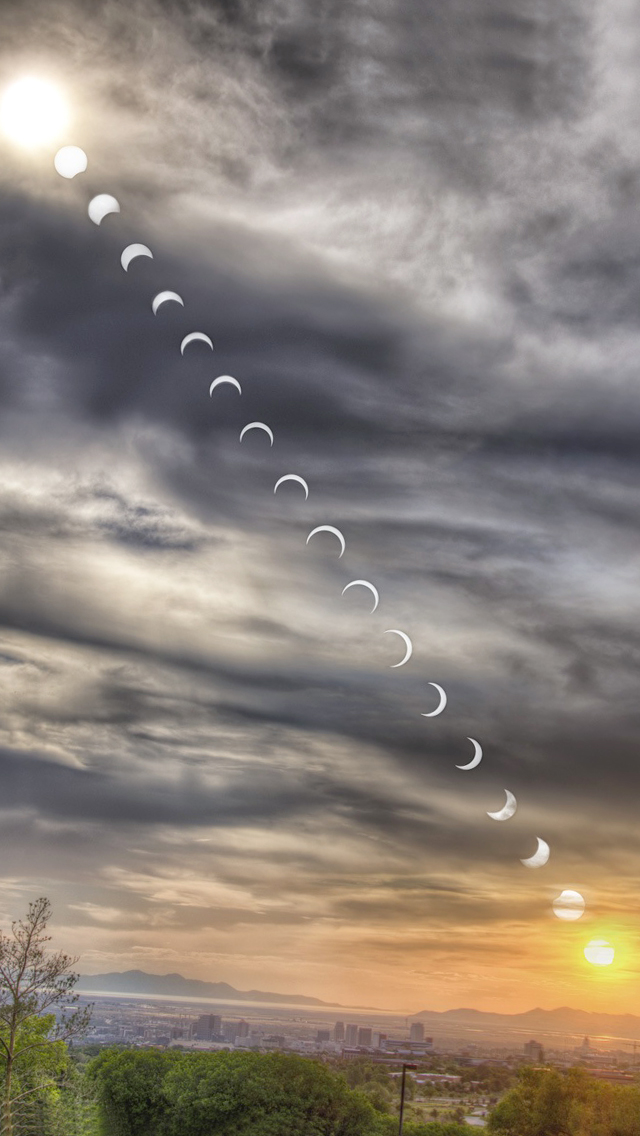Sun Eclipse Wallpaper