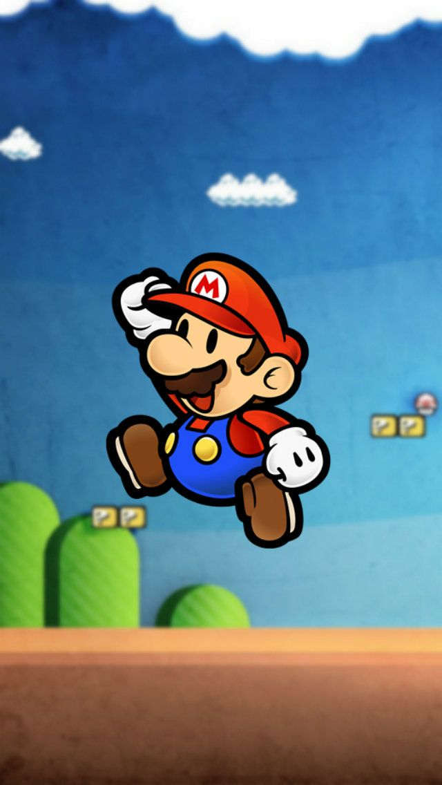 Super Mario Background