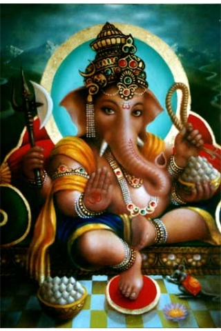 3d Ganesha Picture