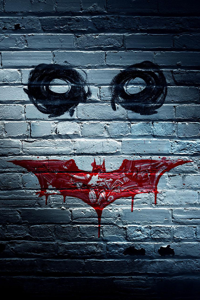 Batman On Wall Painting