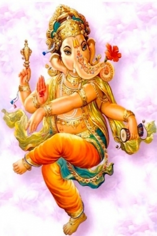 Dancing Ganesha Picture