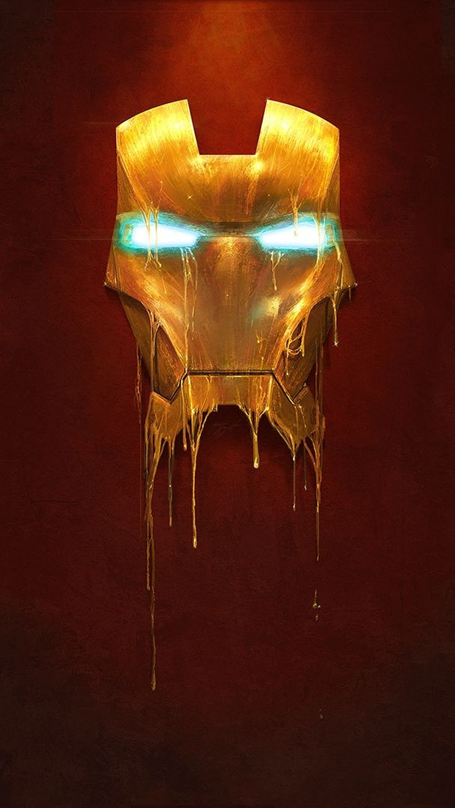 Iron Man Mask Wallpaper