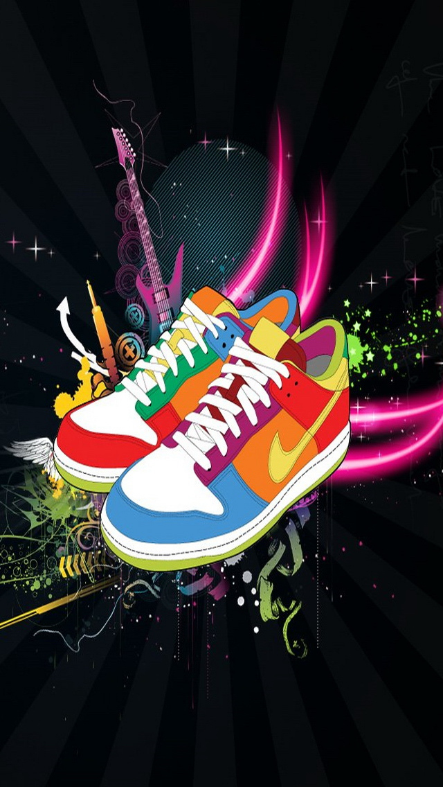 Nike Abstract Shoes
