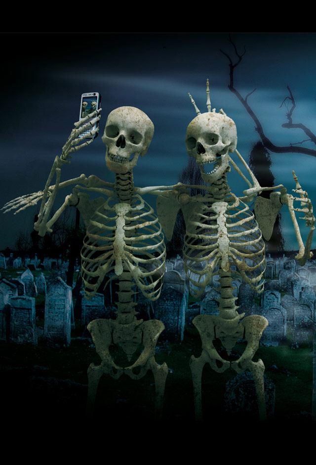 Skelton Selfy Picture