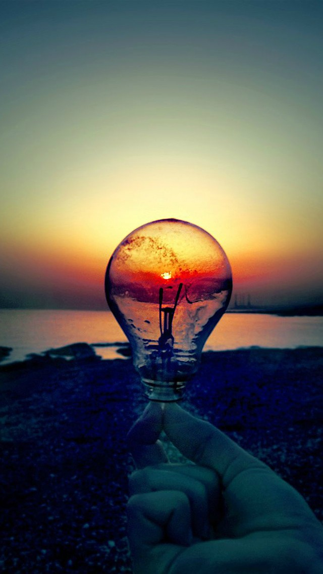 Sunset See By Bulb