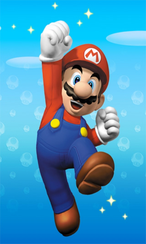 Super Mario Jumping Wallpaper