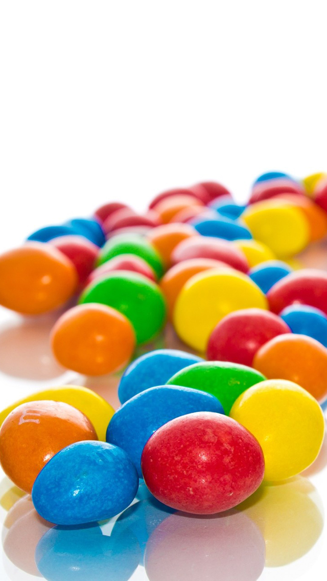 Colorful Candies Wallpaper