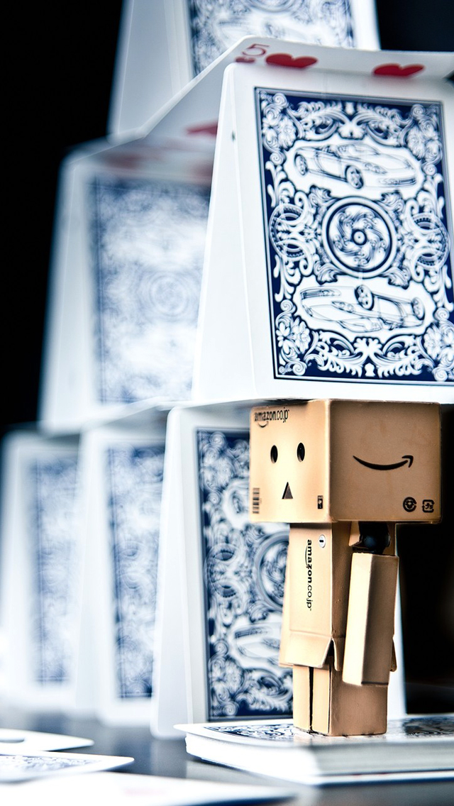 Danbo & Playing Cards
