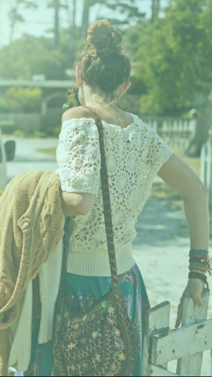 Girl In Vintage Style