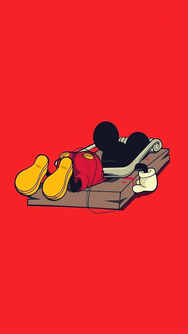 Mickey Mouse Stuck