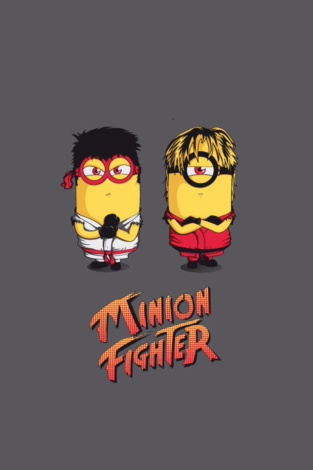 Minion Fighter Wallpaper