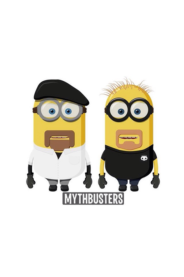 Mythbusters Minions Wallpaper