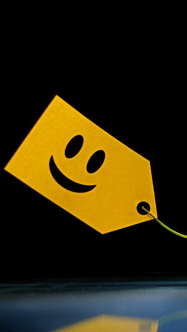 Smiley Tag Wallpaper