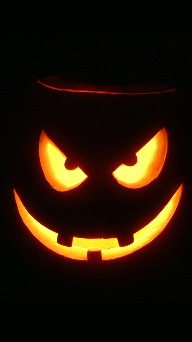 Horror Halloween Pumpkin