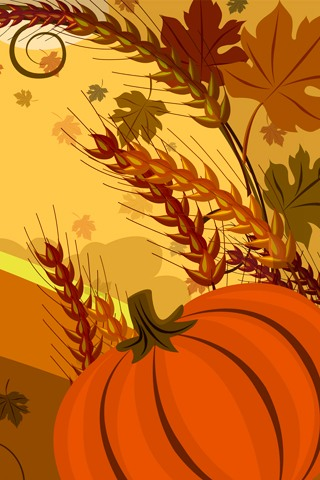 Abstract Thanksgiving Wallpaper