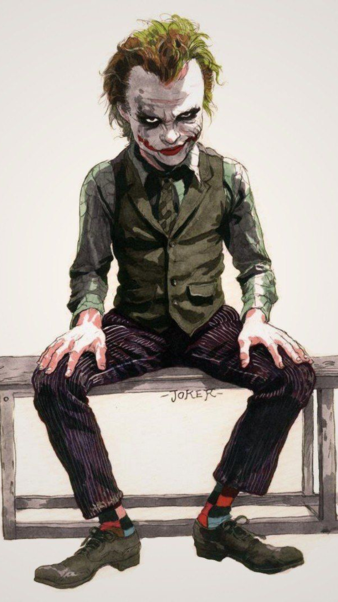 Cool Joker Painting