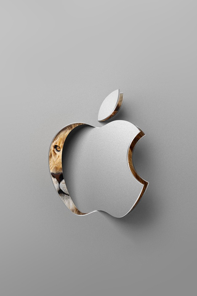 3D Apple Logo Wallpaper
