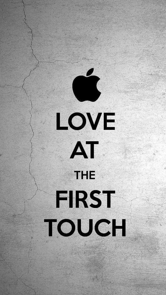 Love At First Touch Wallpaper