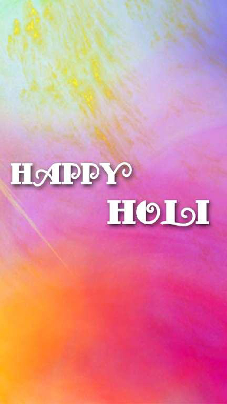 Pink Holi Wallpaper