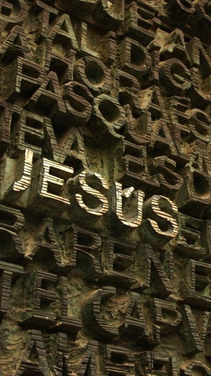 3D Jesus Name Background