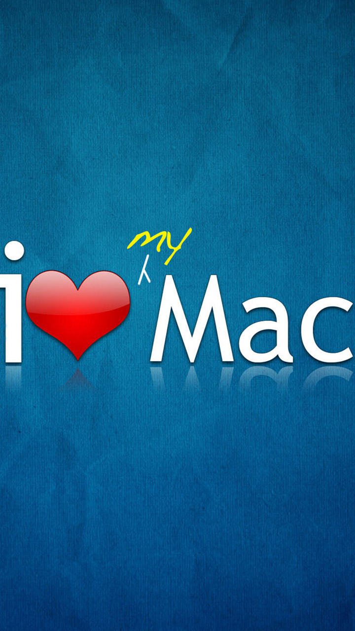 I Love Mac Wallpaper