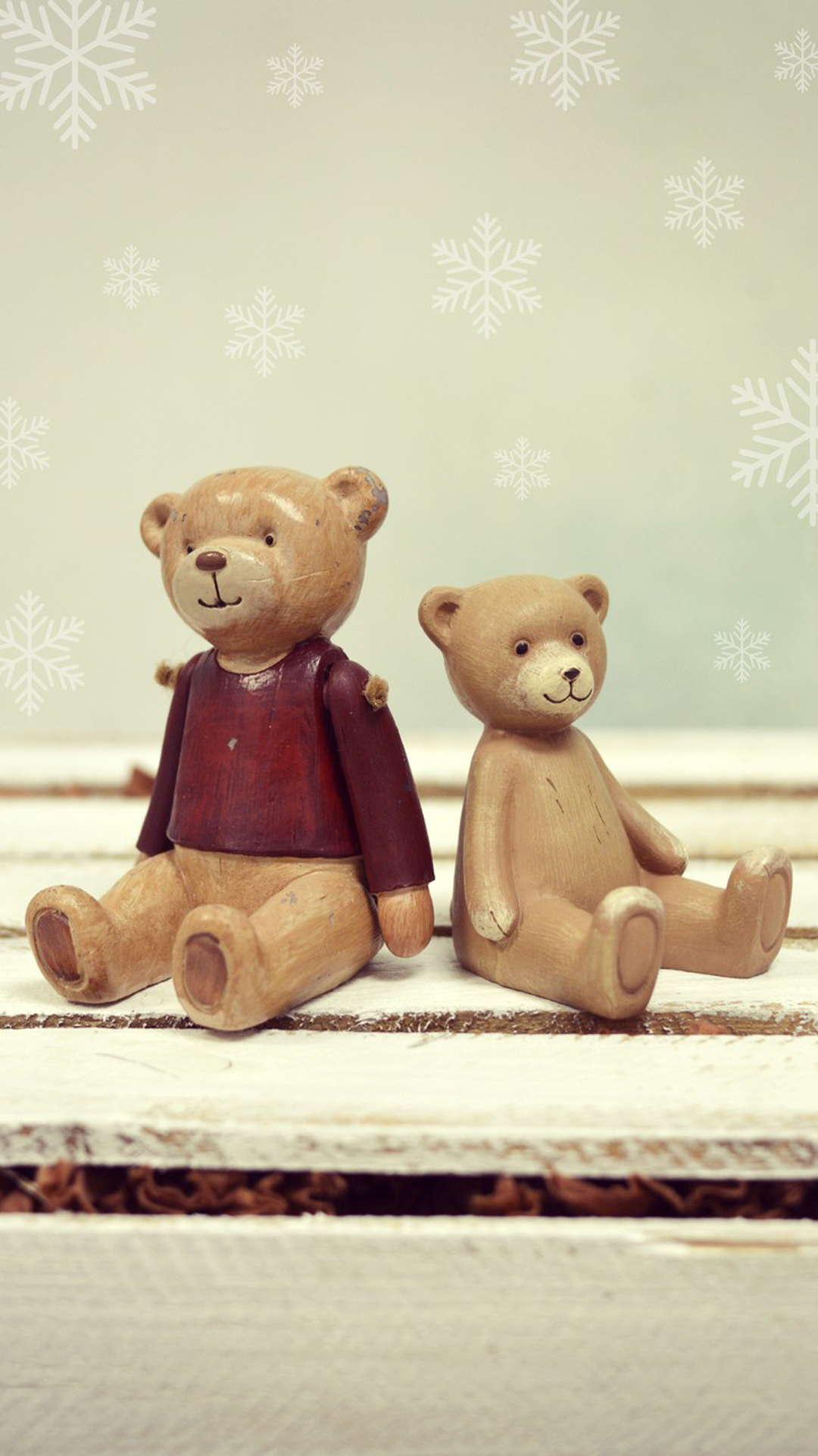 Teddy Couple Made By Soil