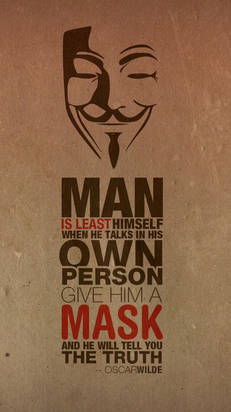 Truth Mask Oscar Wilde Quote