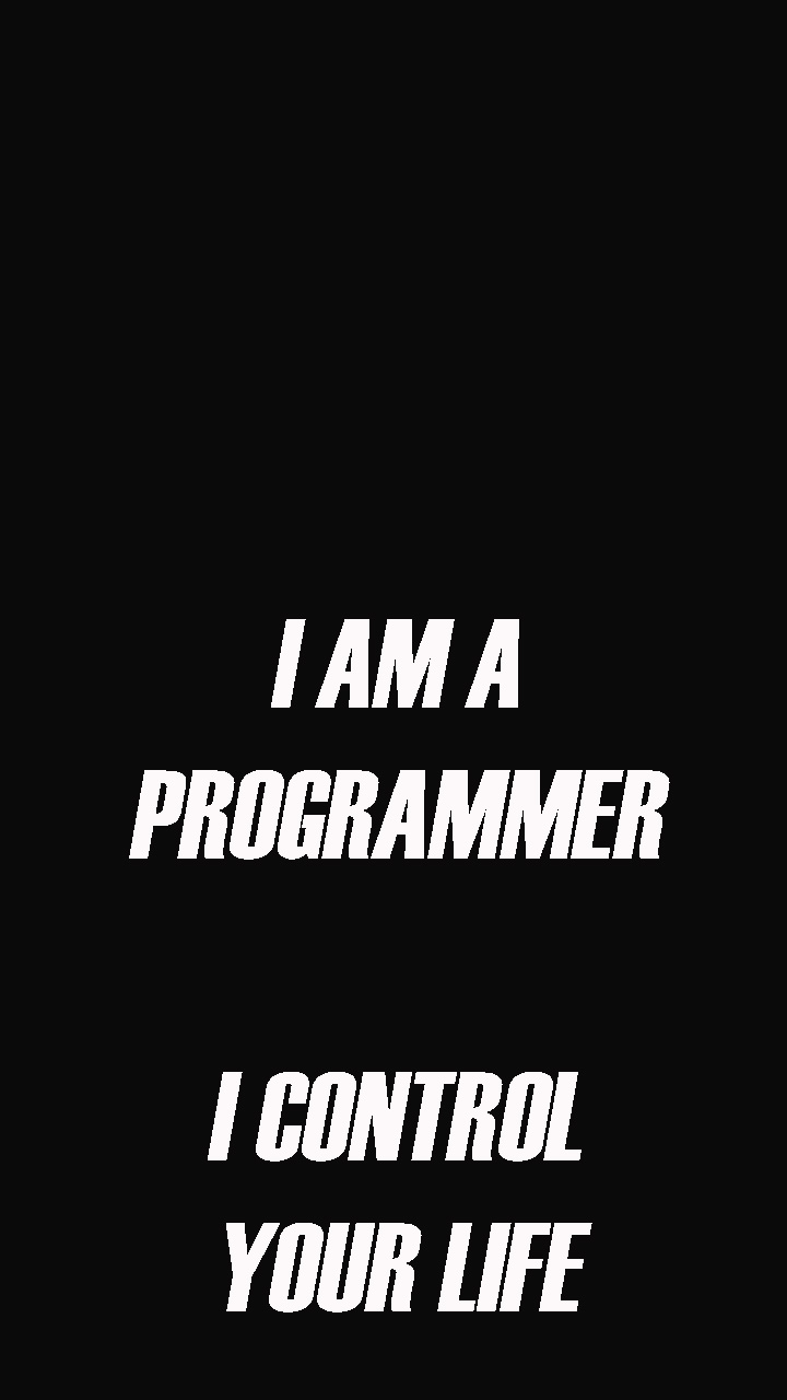 I Am Programmer Wallpaper