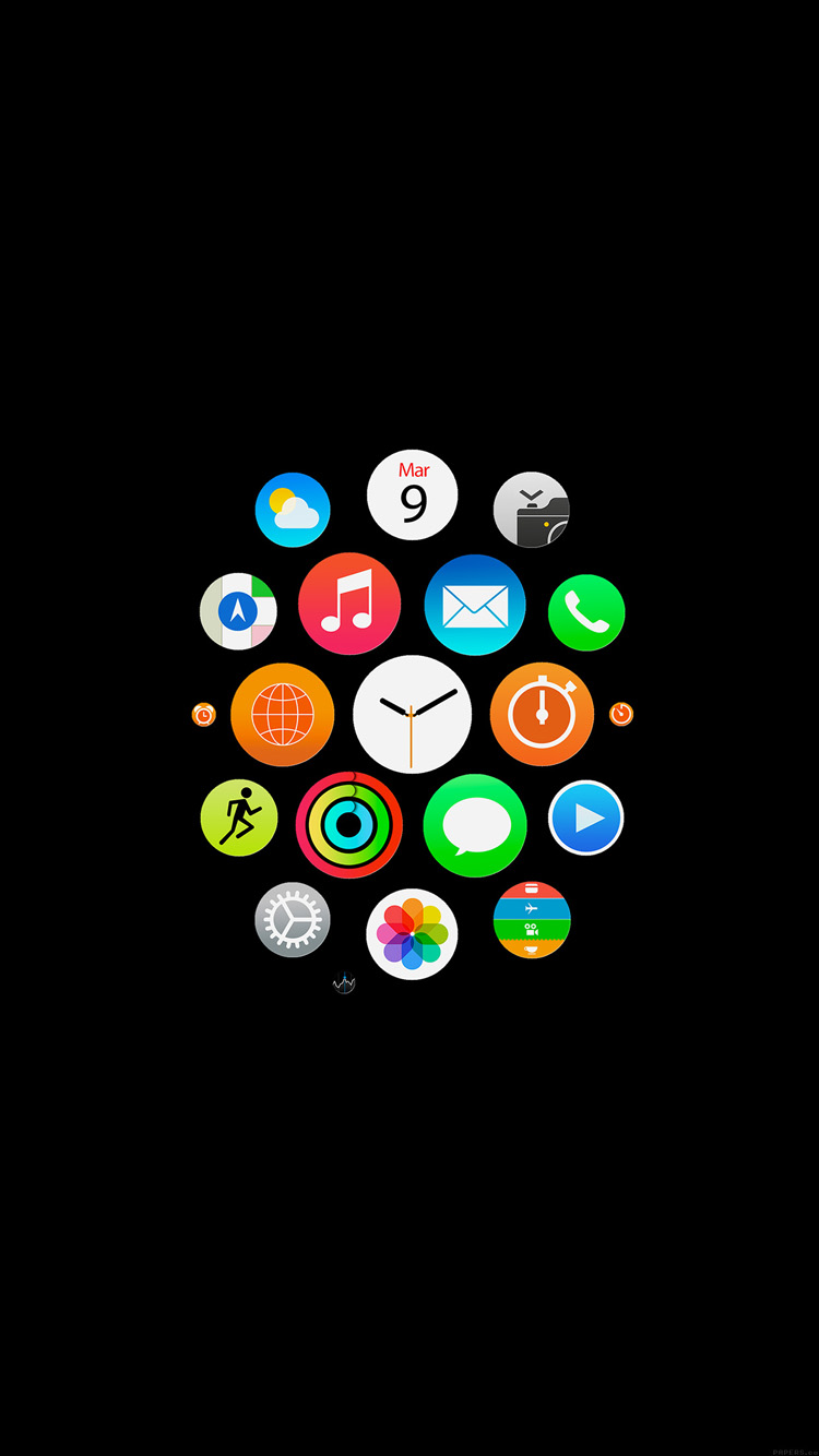 Apple Watch Icons Art