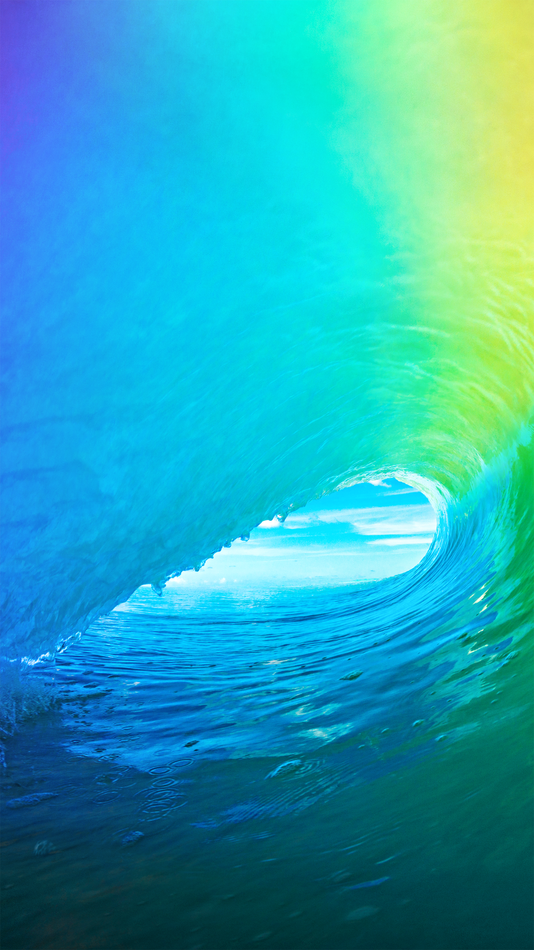 IOS 9 Color Wave Tube