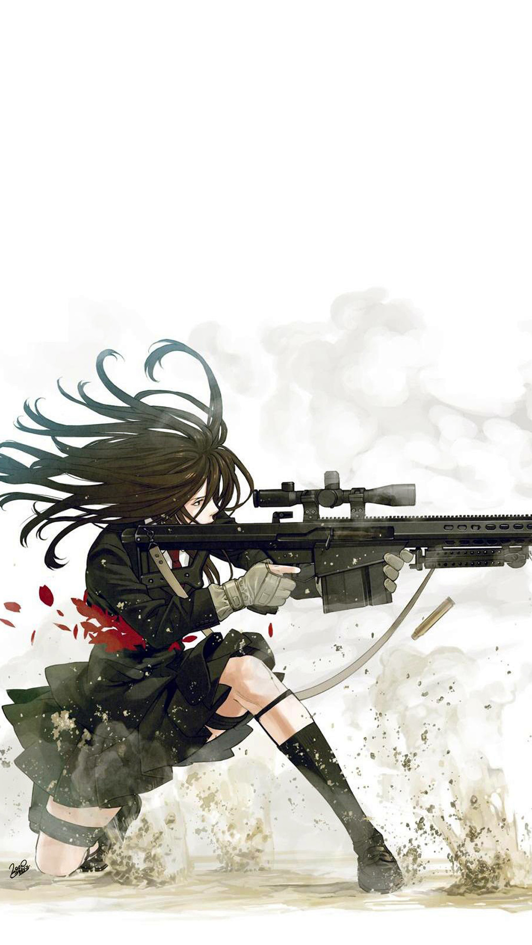 Sniper Girl Anime Photo