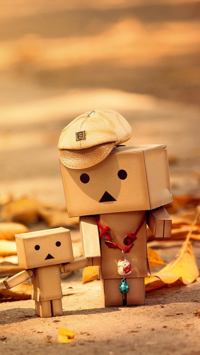 Danbo Couple Wallpaper