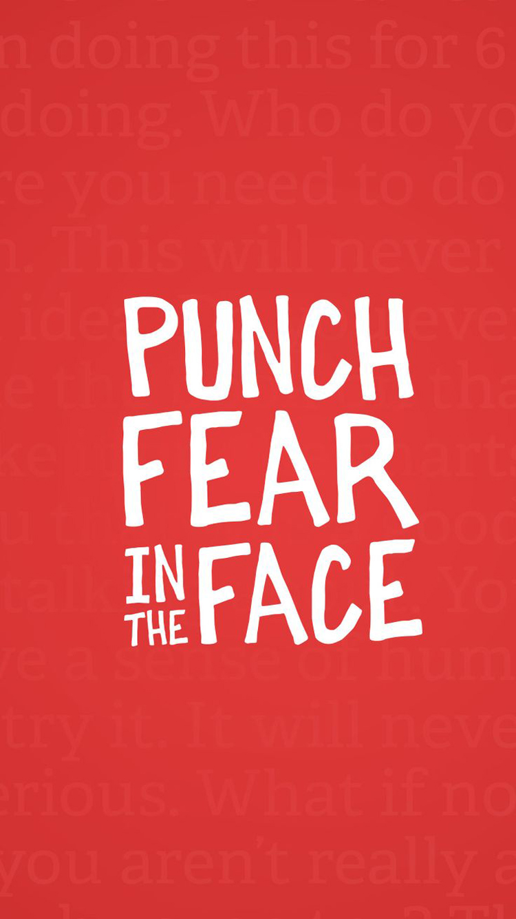Punch Fear Face