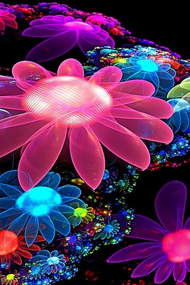 3D Animated Flowers