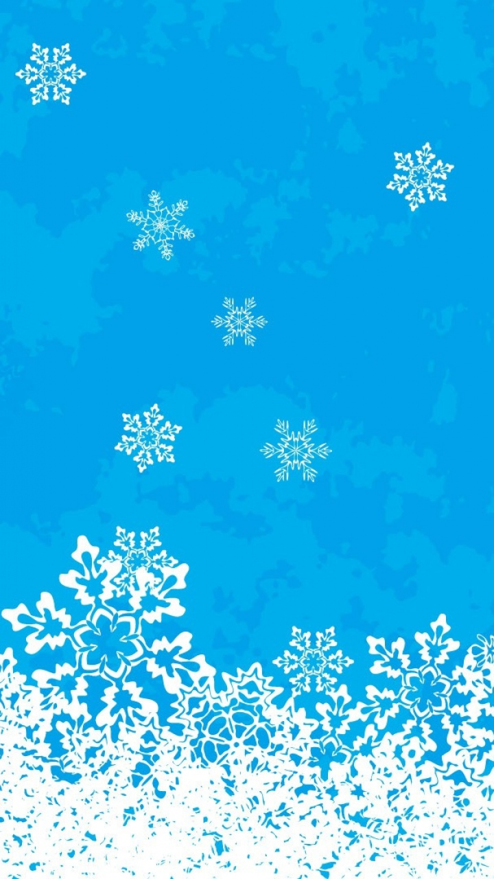 Snowfall Patterns Background