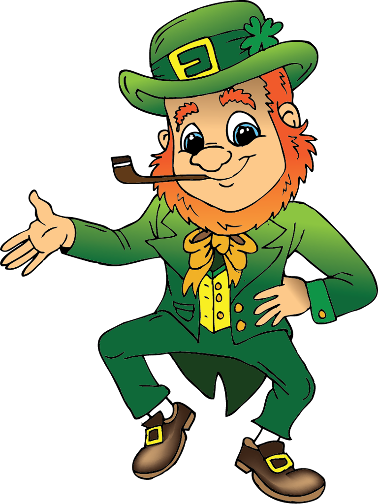 Anime St. Patrick's Day Clip Art