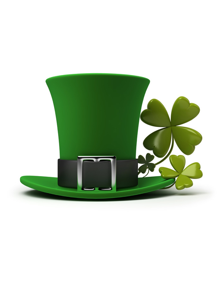St. Patrick's Hat Wallpaper