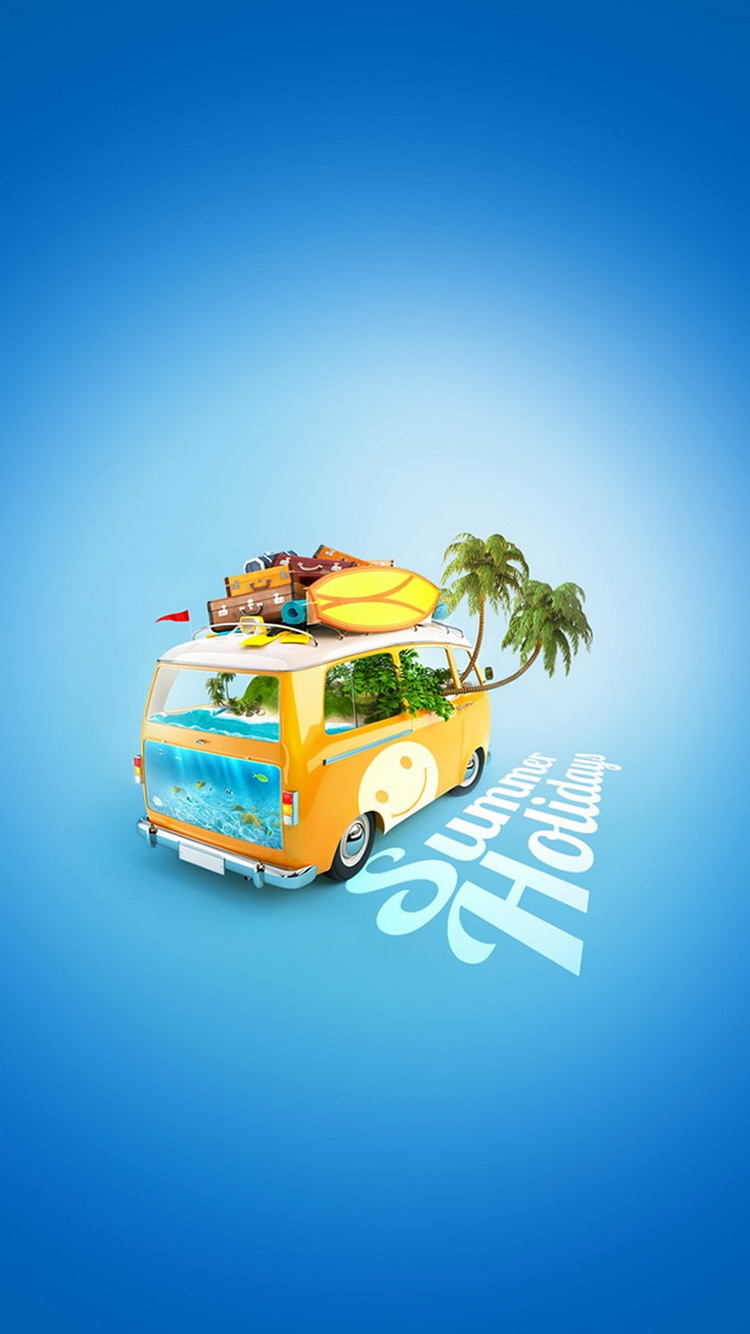 Summer Holiday Van Picture