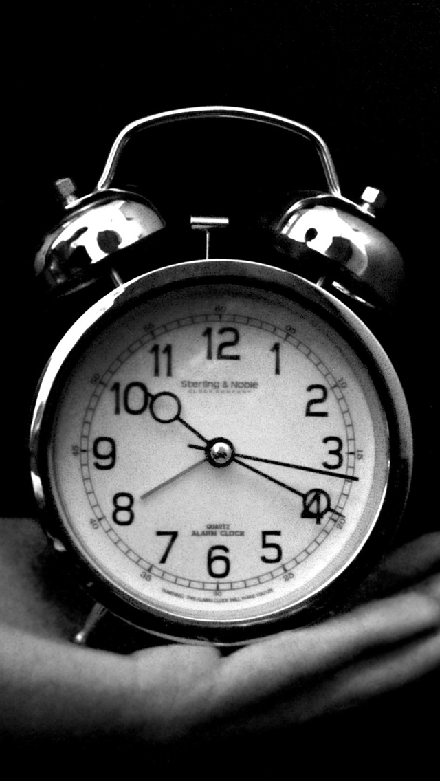 Hand Clock Monochrome